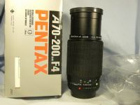 '    PKA 70-200mm Pentax PKA Boxed-MINT-GREAT BOKEH- '  Pentax A 70-200MM F4 Zoom Macro Lens £34.99